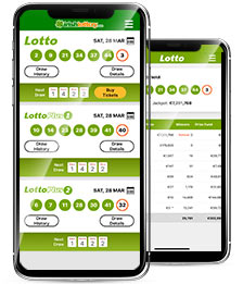 Irish Lottery App for iPhone